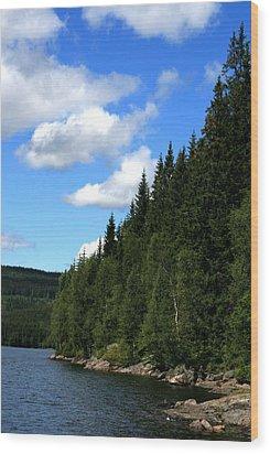 National Park Wood Print
