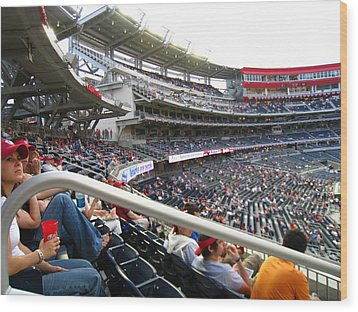Nationals Park - 01133 Wood Print by DC Photographer