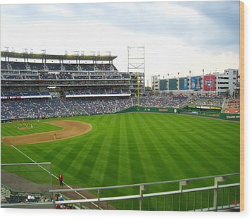 Nationals Park - 01135 Wood Print by DC Photographer