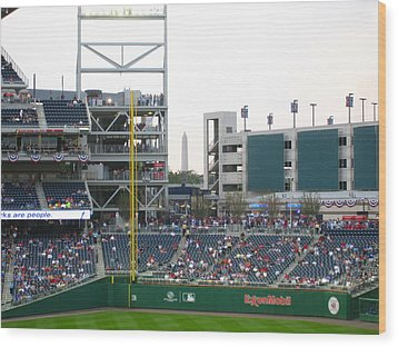Nationals Park - 01137 Wood Print by DC Photographer