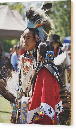 Wood Print featuring the photograph Native Pride Shines by Al Fritz