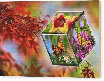 Natural Vibrance Wood Print