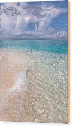 Natural Wonder. Maldives Wood Print