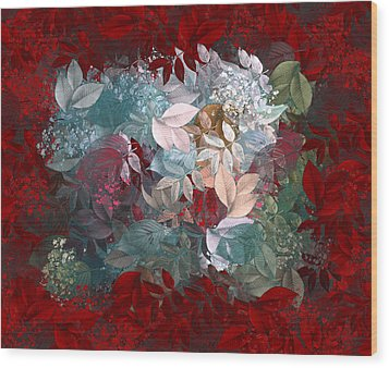 Naturaleaves - S20-03c Wood Print by Variance Collections