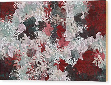 Naturaleaves - S69-02a Wood Print by Variance Collections