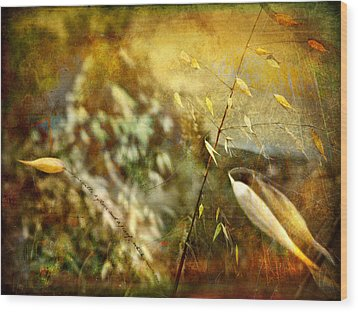 Wood Print featuring the photograph Nature #13. Calling You by Alfredo Gonzalez