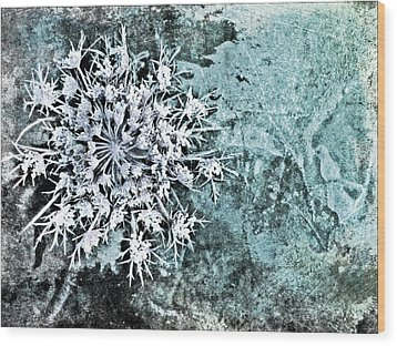 Nature Abstract 28 Wood Print by Maria Huntley