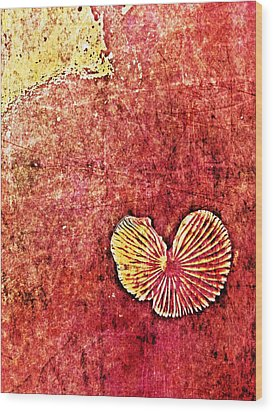 Wood Print featuring the digital art Nature Abstract 4 by Maria Huntley