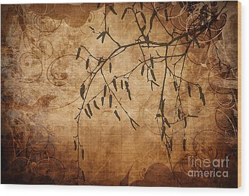 Nature Canvas  Wood Print by Andrea Kollo