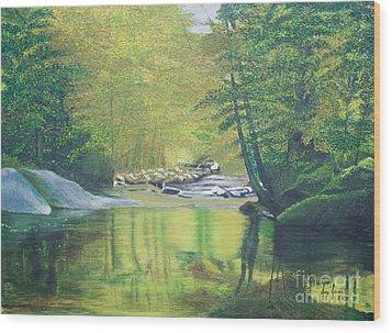 Nature's Charm Wood Print