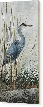 Natures Gentle Stillness Wood Print