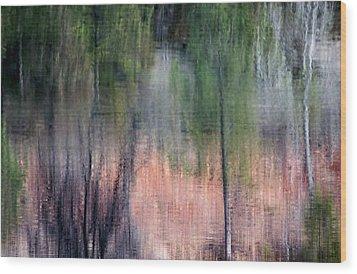 Nature's Mirror Wood Print