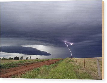 Wood Print featuring the photograph Natures Power by Yvonne Emerson AKA RavenSoul