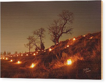 Wood Print featuring the photograph Nature's Sentinels 12 by Judi Quelland