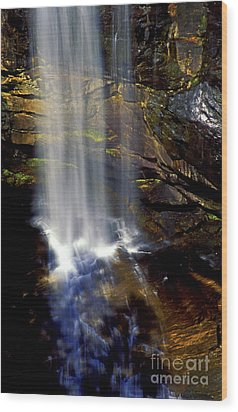 Natures Shower Stall Wood Print by Paul W Faust -  Impressions of Light