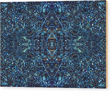 Magic Of Intricacy Wood Print