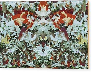 Expansive Impetus Wood Print