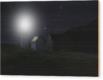 Nauset Light Wood Print