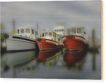 Wood Print featuring the photograph Nautical by Sonya Lang