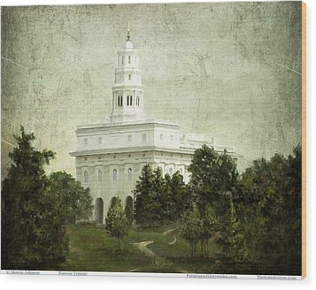 Nauvoo Temple Wood Print