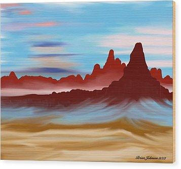 Navajo Wood Print