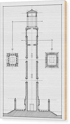 Ncsu Memorial Bell Tower Wood Print by Calvin Durham