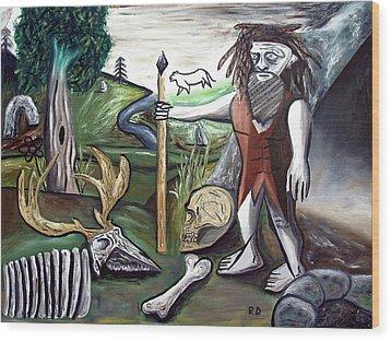 Neander Valley Wood Print by Ryan Demaree