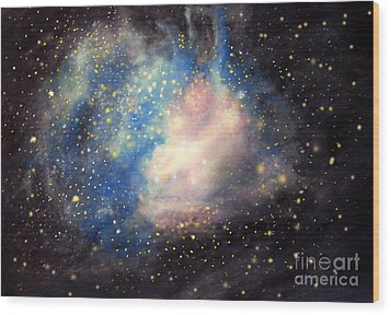 Nebula Ngc 346 Wood Print
