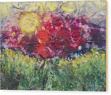 Nectarous Wood Print