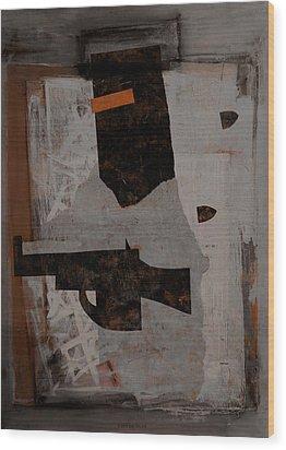 Ned Kelly #1 Wood Print