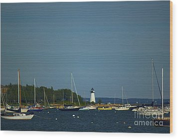Ned's Point In Mattapoisett Wood Print by Amazing Jules