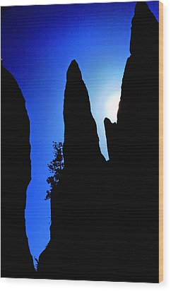 Wood Print featuring the photograph Needle Rock by Mike Flynn