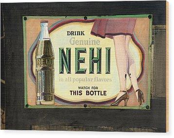Nehi Wood Print