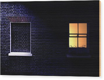 Neighbours Wood Print by Richard Piper