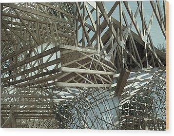Neoangle Sticks Wood Print
