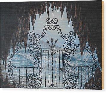 Neptune's Gate Wood Print