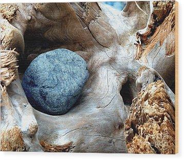 Nestle Wood Print by Lauren Leigh Hunter Fine Art Photography