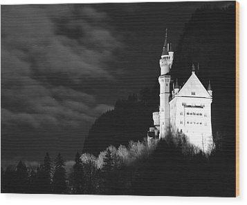 Neuschwanstein Castle Wood Print by Matt MacMillan