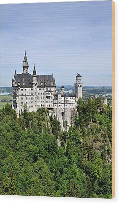 Neuschwanstein Castle Wood Print by Rick Frost