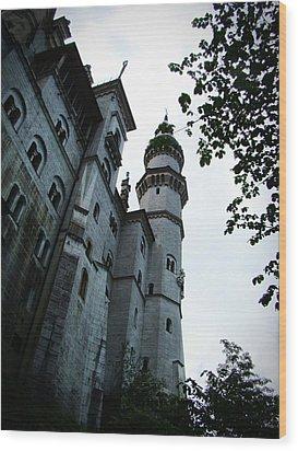 Neuschwanstein Castle Wood Print by Zinvolle Art
