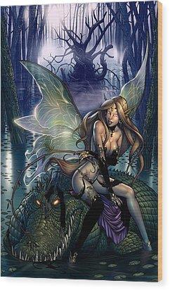 Neverland 00b Wood Print by Zenescope Entertainment