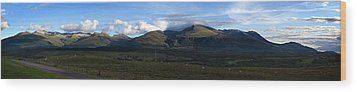 Wood Print featuring the photograph Nevis Range by Bud Simpson