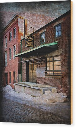 New Bedford Ma Wood Print