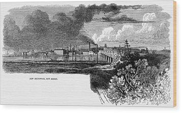 New Brunswick, 1876 Wood Print by Granger