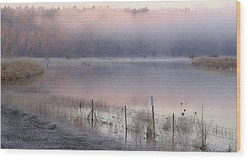 New Dawn  Wood Print