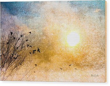 New Day Yesterday Wood Print by Bob Orsillo