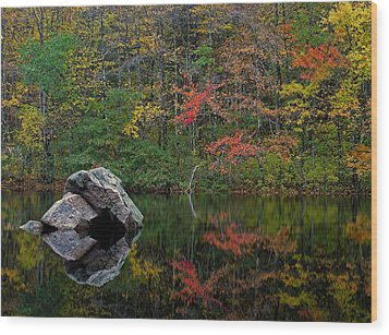 New England Photography Wood Print by Juergen Roth