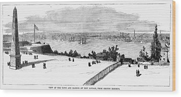 New London, Connecticut Wood Print by Granger