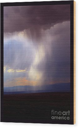 New Mexican Afternoon Wood Print by Susanne Still