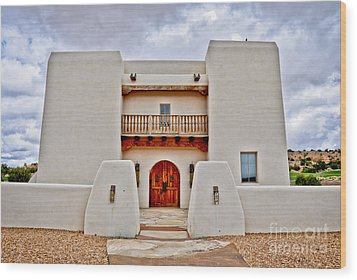 Wood Print featuring the photograph New Mexican Hideaway by Gina Savage